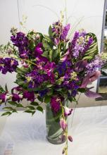 Brilliant Purple Arrangement