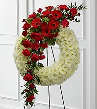 Graceful Tribute Wreath